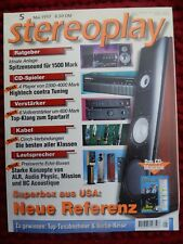 STEREOPLAY 5/97,TANDBERG TR 2075,THIEL CS 6,AUDIO PHYSIC TEMPO,ALR TAKE 2,ARAXE