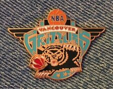 Vancouver Grizzlies Pin NBA~Basketball~Official Licensed by Peter David Inc~1994