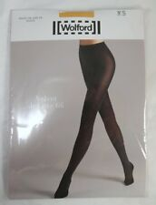 Wolford Velvet De Luxe 66 Tights XS Golden Honey 18207 2215