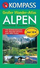 Kompass Großer Wander-Atlas Alpen von unknown | Buch | Zustand sehr gut