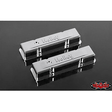 RC4WD 1/10 Holley® Chrome Valve Covers for Scale V8 Engine  Z-S1500