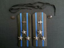 Schulterstücken Schulterklappen Luftstreitkräfte Hemd UDSSR Sowjet Armee