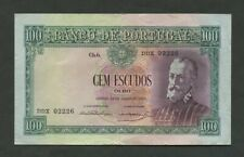 More details for portugal  100 escudos  1954  p159  good vf  banknotes