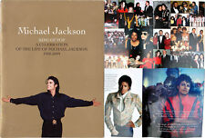 Michael Jackson Programme Memorial VIP Funeral Program Official 2009