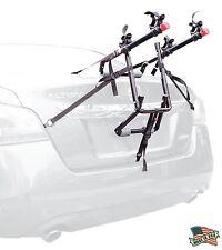 Allen Sports 2-Bike Trunk Mount Rack Bicycle Carrier Hatchback Minivan SUV Car