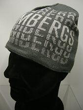 Cappello cuffia hat BIKKEMBERGS a.X517 C21 T.unica c.0003 grigio grey log Italy