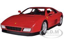 FERRARI 348 TB RED 1/18 DIECAST MODEL CAR BY HOTWHEELS X5532