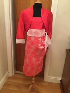 Lovely NEW Coral Outfit By PIFER & MAYKER Size 12