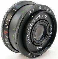 ⭐MINT⭐ INDUSTAR 50-2 Russian USSR Lens M42 + Adapt. PENTAX PK K Mount Camera