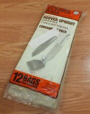 Carpet Care Vacuum Bags For Hoover Upright Convertible Type C Bottom Fill *READ*