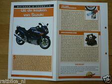 LM97- IN DE KEUKEN SUZUKI VAN INFO MOTORCYCLE,MOTORRAD,MOTORFIETS