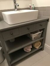 BESPOKE CONSOLE WASH STAND TABLE 80 X 85 X 45CM 3 DRAWER - SEE DESCRIPTION