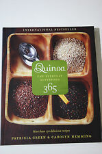 Quinoa 365: The Everyday Superfood by Patricia Green & Carolyn Hemming (2011)VGC