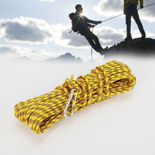 30M 8mm Dia Polypropylene 1000kg Climbing Accessory Cord Professional Rope Sling