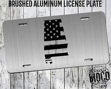 Alabama Distressed Flag License Plate
