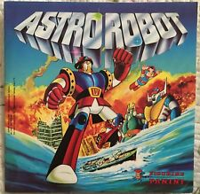 ALBUM PANINI ASTROROBOT  1980  ITALIA  VUOTO PERFETTO CON 5 FIGURINE ATTACCATE