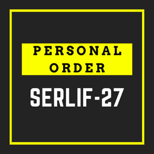 PERSONAL ORDER for serlif-27