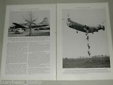 1948 magazine article on recent advances in airplanes, flying