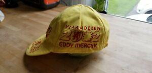 2002 Tour of Flanders cycling cap casquette Ronde Vlaanderen Eddy Mercxx