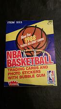 1988-89 Fleer Basketball wax box 36 packs Jordan rc pristine mint 88 PSA BBCE