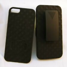 For Apple iPhone 5 and 5S AMZER Shellster Shell Holster and Kickstand Case! 1942