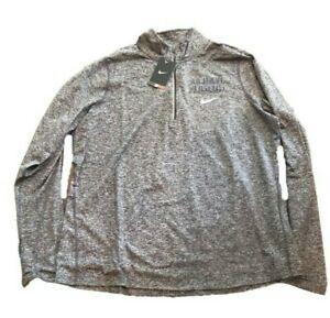 NWT New Detroit Tigers Nike Dri-Fit Women's Element 1/2 Zip Size XS Jacket