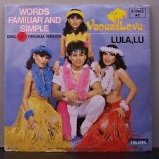 "(o) Vanua Levu - Words Familiar And Simple (7"" Single)"