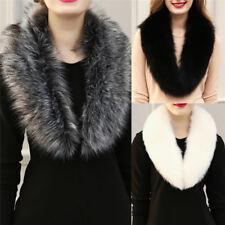 New Fashion Women Winter Shawls Scarves Fur Faux Fake Fur Collar Collar ScarfH&T
