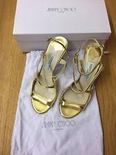 Jimmy Choo - Damenschuhe - Gold - Gr. 38 - Pumps