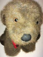 """DAKIN Brown Vintage 1986 Dog   9"""" Plush Stuffed Animal"""
