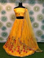 De Novia Boda India Bollywood Lehenga Fiesta Diseñador Vestido Lengha Choli