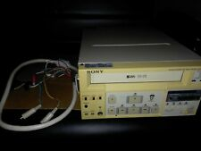 Sony SVO-9500MD Medical Multi Use Stereo SVHS VHS Player VCR Recorder