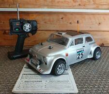 Kyosho GP Spider 4WD Fiat 500  1:10 Scale  Vintage Nitro GS11X Kyosho FW-01