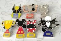 Trophies 2019 Trophy Hidden Mickey Set DLR Wave B Choose a Disney Pin