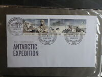 AUSTRALIA 2013 AAT CENT EXPEDITION SET 5 STAMPS DAVIS FDC FIRST DAY COVER
