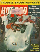 1957 Hot Rod Magazine: Hot Rodders Challenge European Racing Teams/Volkswagen