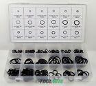 Universal Rubber O-Ring Assortment Set Gasket Automotive Seal SAE Kit