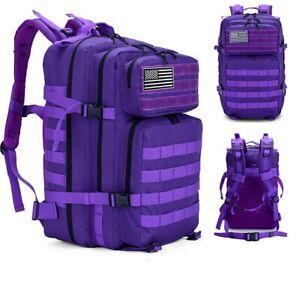 45L Hiking Bags Large Capacity Men MilitaryTactical Backpack Camping Hunting Bag