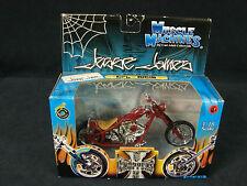 West Coast Choppers Muscle Machines Jesse James 1:18 Diecast CFL Rigid NEW 2004