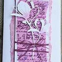Magnolie Blume Metall Stencil Cutting Dies Scrapbooking Stanzschablone Tagebuch