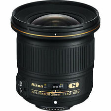 Nikon Af-s Nikkor 20mm F1.8g Ed Lens