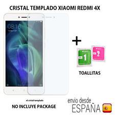 Cristal templado protector de pantalla para Xiaomi Redmi 4x SIN package.