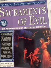 Chaosium Call of Cthulhu  Sacraments of Evil NM