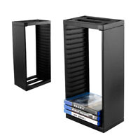 Games Disc Storage Tower Rack CD Stand Holder for PS4 Slim Pro Game Console