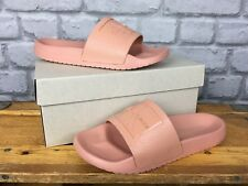 CALVIN KLEIN JEANS LADIES UK 3 EU 36 PALE PINK CHRISTIE JELLY SLIDES