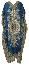 Long Kaftan Dress, Hippy Boho Maxi, Plus Size Women Caftan Top Dress Night Gown