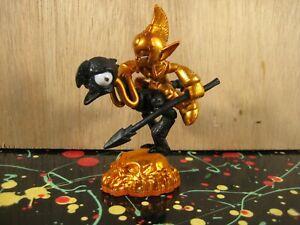 Halloween Fright Rider Skylanders Giants Black & Orange Gold Undead Figure