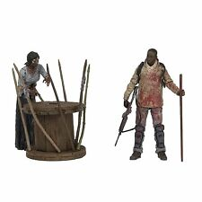McFarlane Toys The Walking Dead TV Morgan Jones with Impaled Walker Spike Trap