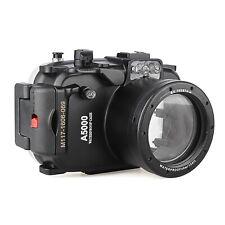 Meikon 40m/130ft Unterwasser Gehäuse Camera Housing case für Sony A5000 16-50mm