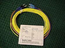 10 Meter SMF SC-ST Fiber Optic Cable Duplex NEW!